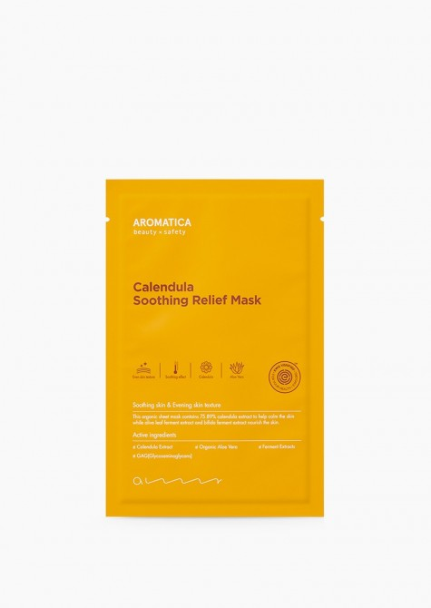 CALENDULA SOOTHING RELIEF MASK PACK