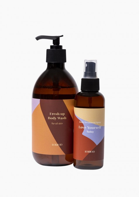 Matches we love: Fresh up body wash + Body treatment spray Today
