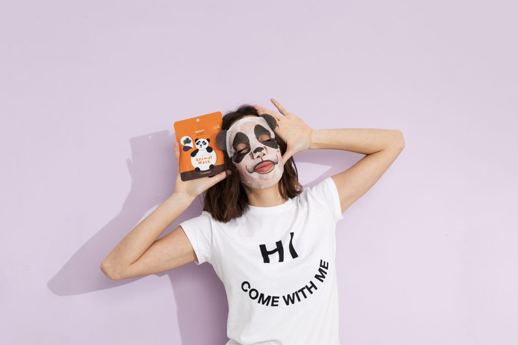 animal mask MiiN cosmetics