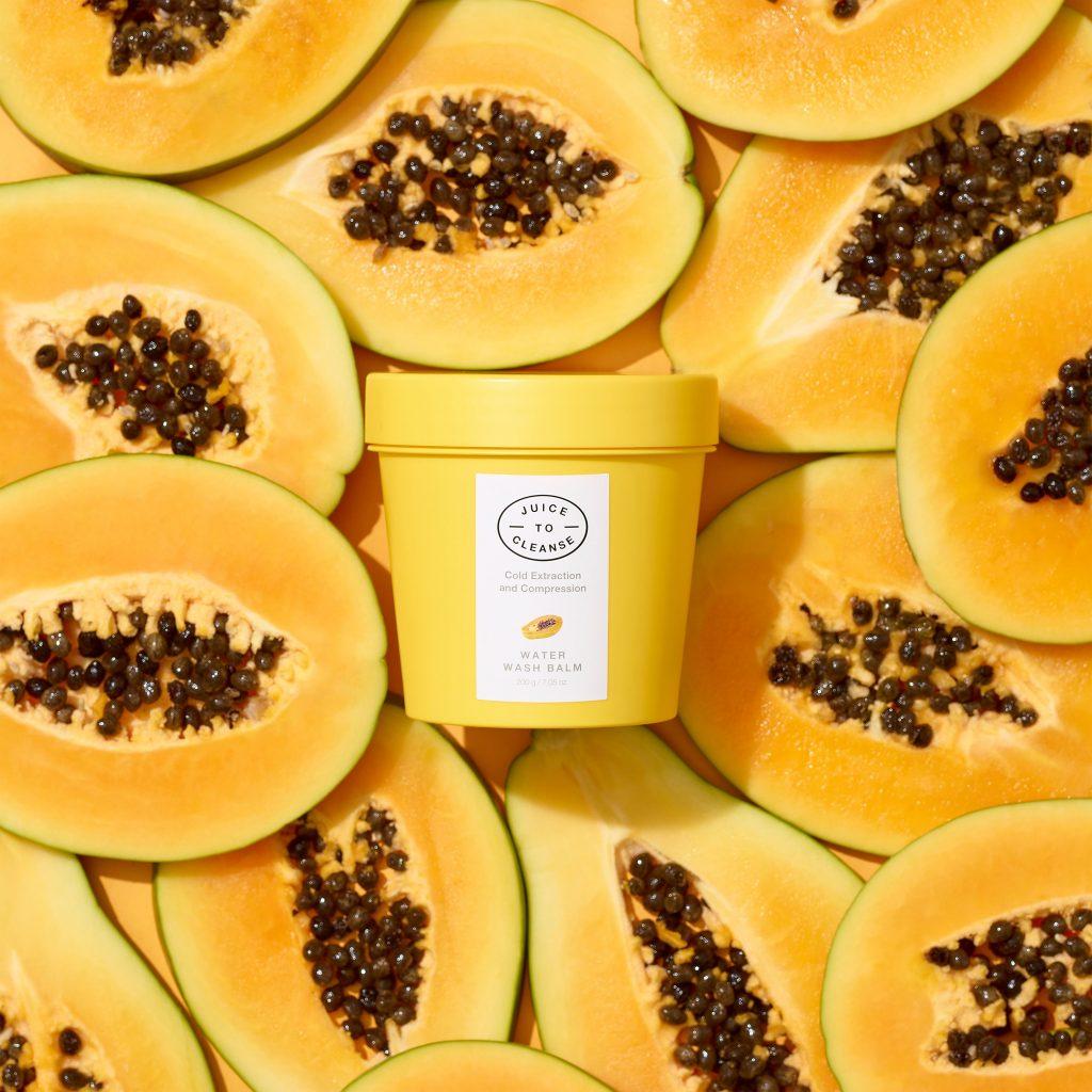 lista de superalimentos: Limpiador al agua con papaya